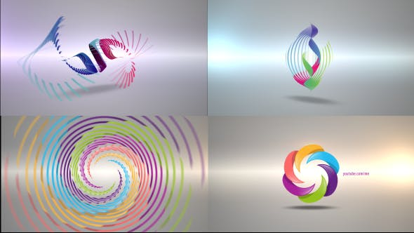 Download Clean Radial Logo Reveal Pack – FREE Videohive