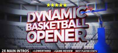 Dynamic Basketball Opener/Intro