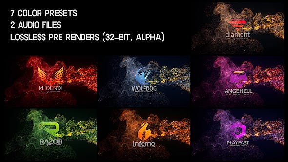 Download Elegant Soft Particles Logo Reveal – FREE Videohive