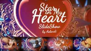 Valentine Day Star in My Heart SlideShow Photo Gallery