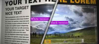 NEWSPAPER Black&White_CS4