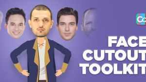 Face Cutout Toolkit