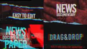 News And Documentary Opener
