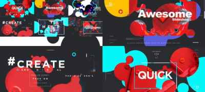 Colorful Typographic Promo