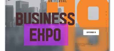Business Expo Typography Opener