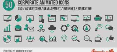 Corporate Animated Icons