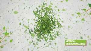 Green Eco Logo Reveal