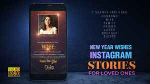 New Year wishes for Loved Ones I Instagram Stories