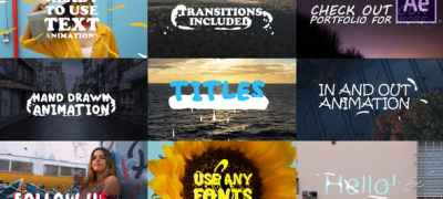 2d Lyric Titles | After Effects Template