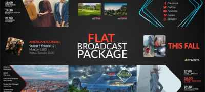 Flat Broadcast Package