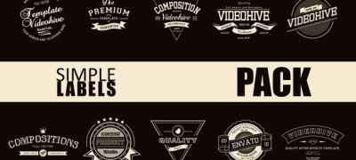 Simple Label Pack