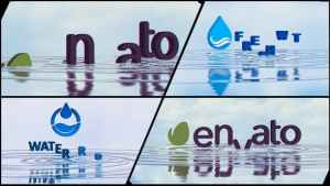 Corporate Logo V21 Water Ripples Emerge