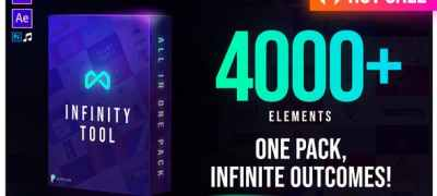 Infinity Tool - The Biggest Pack for Video Creators