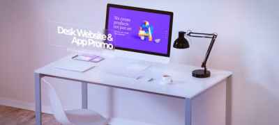 Desk Website Promo & App Promo