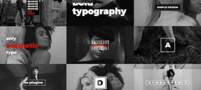 Modern Stomp Opener / Dynamic Typography / Fashion Event Promo / Clean Fast Intro
