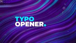 Dynamic Typography Opener