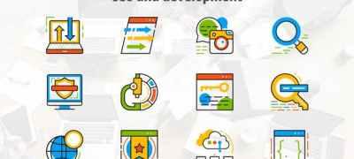 Seo And Development - Flat Animated Icons
