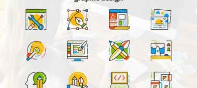 Graphic Design - Flat Animated Icons