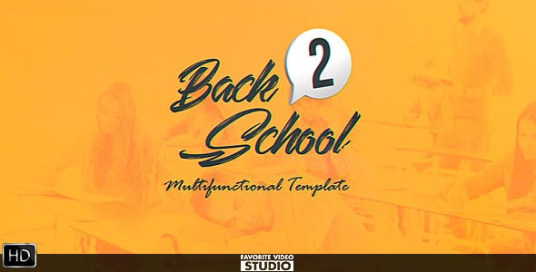 Download Back 2 School Broadcast Pack – FREE Videohive