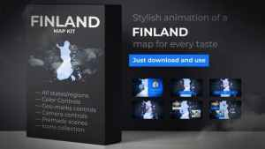 Finland Map - Republic of Finland Map Kit