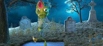 The Halloween Zombie