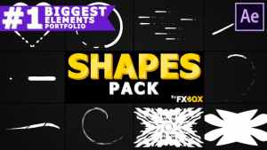 Cartoon Shapes Pack | After Effects