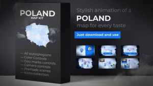 Poland Map - Republic of Poland Map Kit