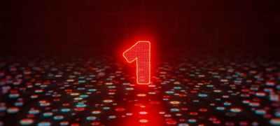 Glitch Countdown Logo