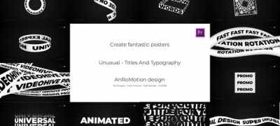 Unusual - Titles And Typography
