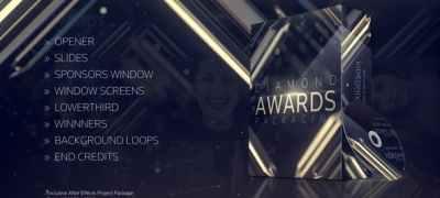 Diamond Awards Packaging