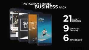 Instagram Stories Business Pack