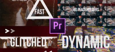 Fast Glitch Slideshow // Dynamic Opener
