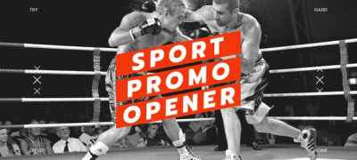 Sport Opener / Fitness and Workout / Event Promo / Dynamic Typography