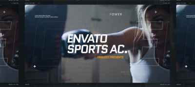 Dynamic Sport Opener / Fitness and Workout / Event Promo / Fast Typography