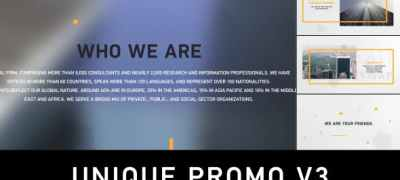 Unique Promo v3 | Corporate Presentation