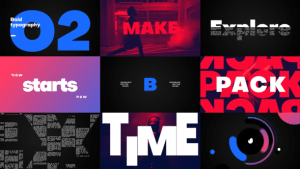 Big Titles -Typography