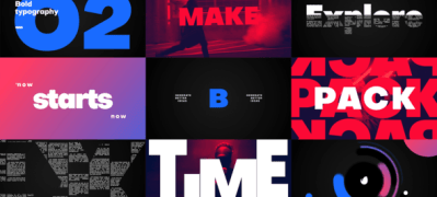 Big Titles -Typography