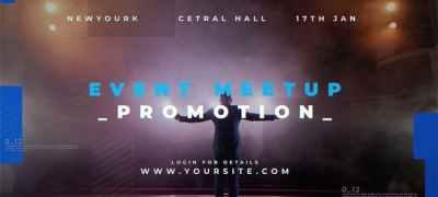 Event Meetup Promo