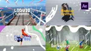 Colorful Liquid Slideshow