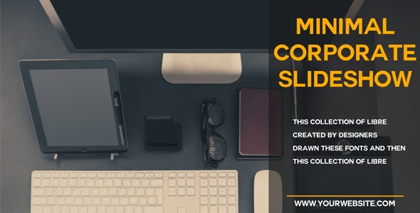 Download Minimal Corporate Slideshow – FREE Videohive