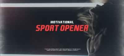 Motivational Sport Opener