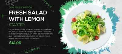 Food Dishes Promo
