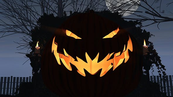 Download Halloween Forest – FREE Videohive