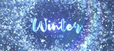 Winter Snow Titles