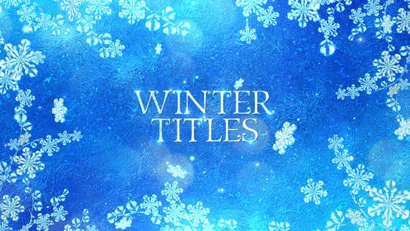 Download Winter Titles – FREE Videohive