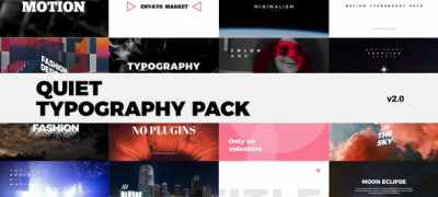 Quiet Typography Pack