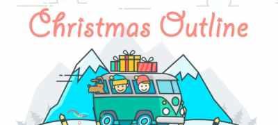 Christmas Outline