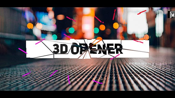 Download Stomp 3D Opener – FREE Videohive