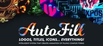 AutoFill - Automatically Animate Titles, Logo Reveals, Animate Icons