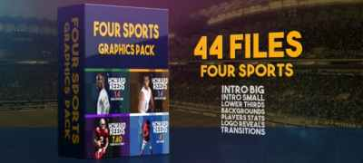 Four Sports Graphics Pack